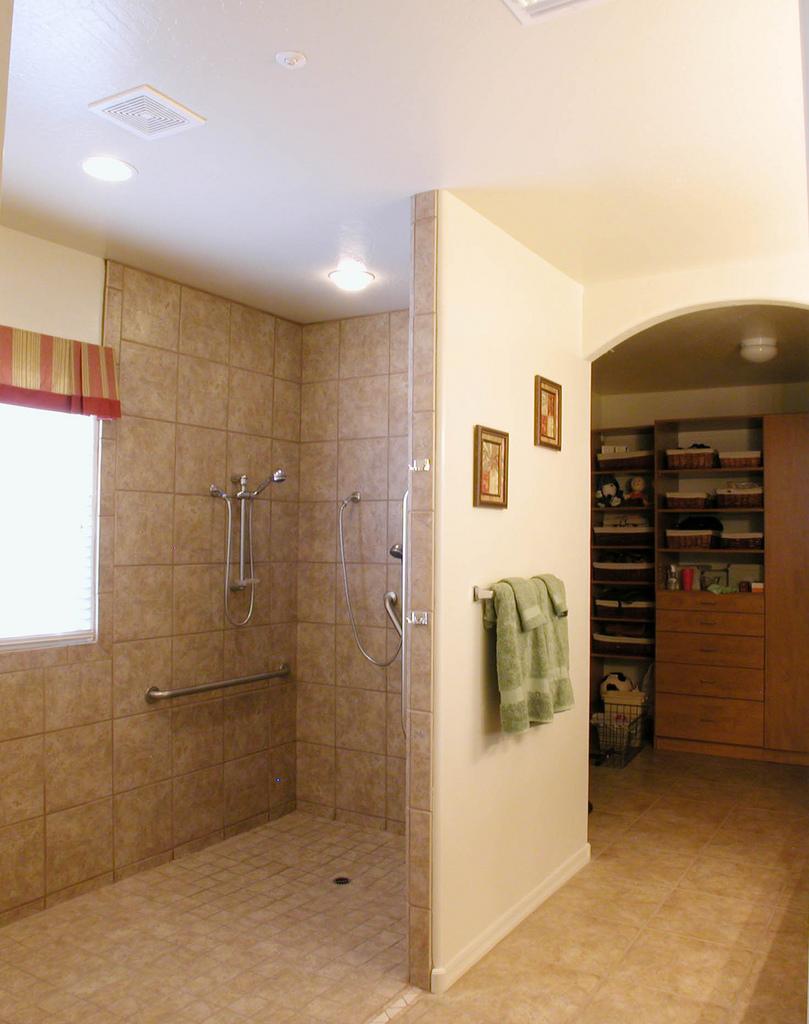 Wheelchair-Accessible Bathroom Renovations